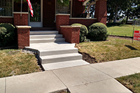 more front steps