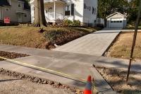 driveway with turnaround