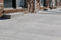 multi family concrete pad construction