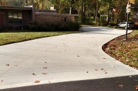 residential driveway construction 2017