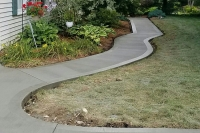 curved sidewalk gallery