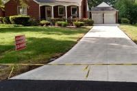 straight driveway gallery