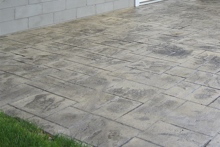 patio and recreational slab construction