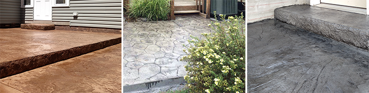 stamped concrete contractor in canton massillon and surrounding stark county areas