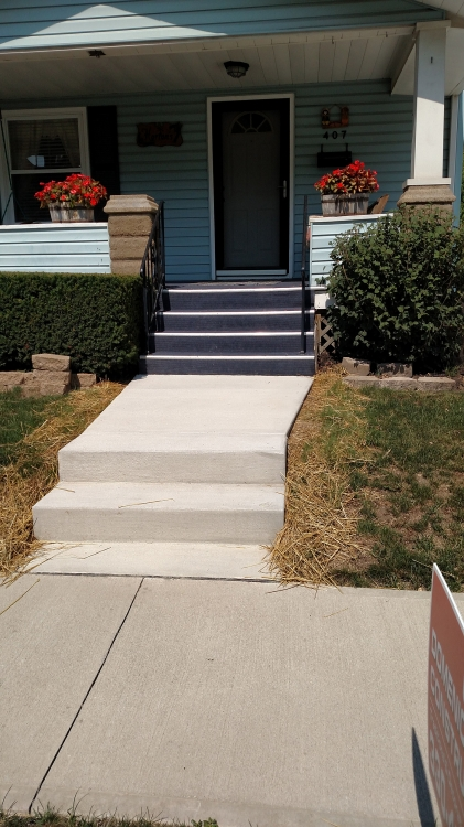 new steps and walk in place