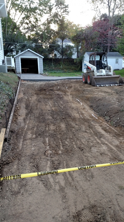 grading driveway