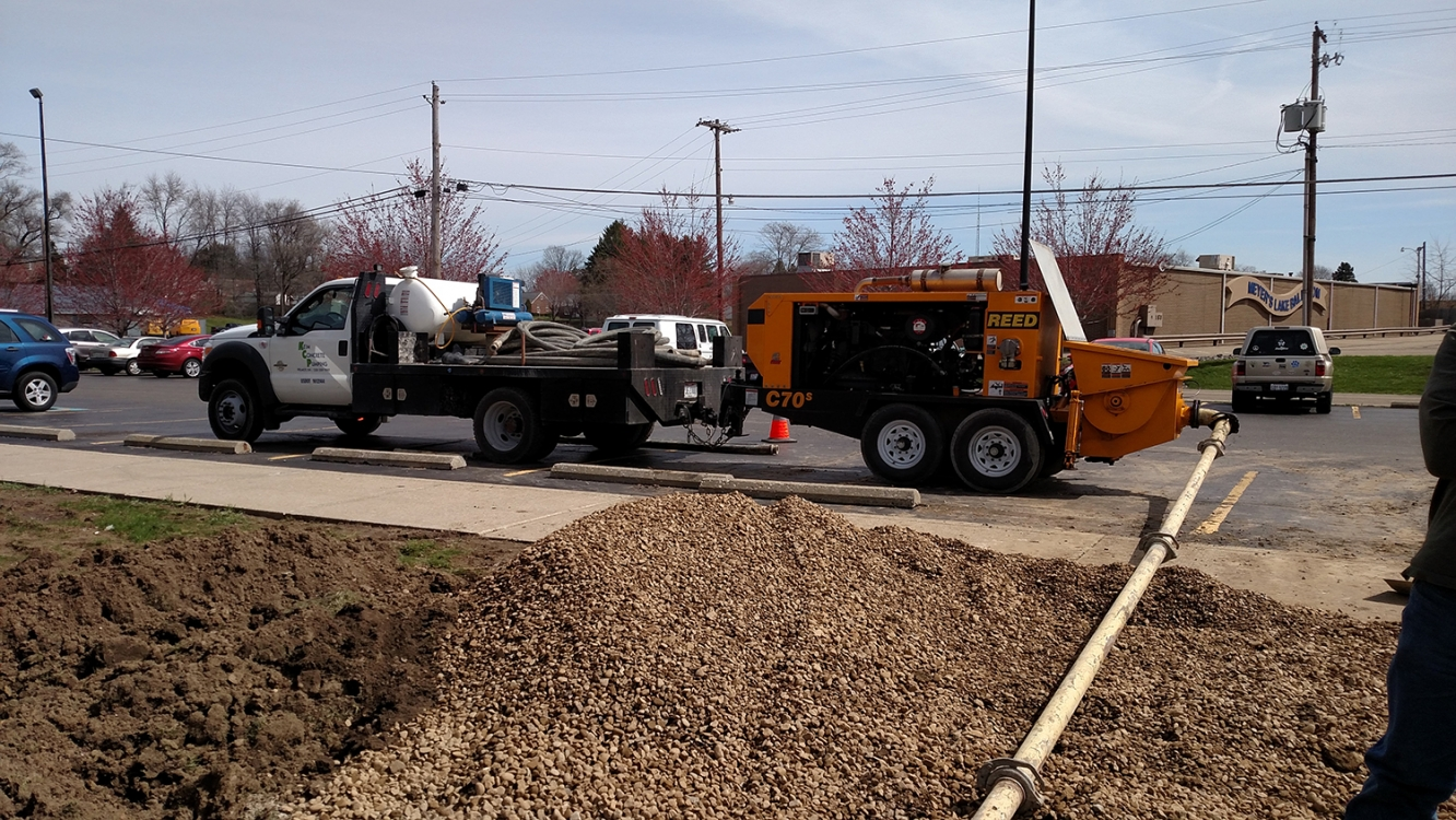 pumping concrete canton Ohio