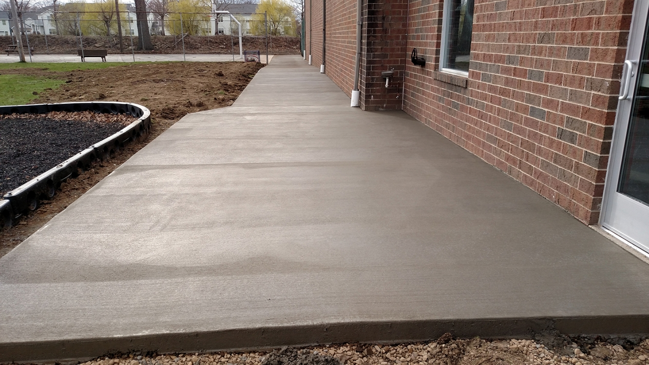 completed ymca sidewalk canton